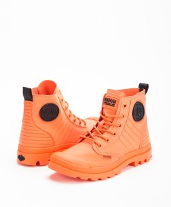 PALLADIUM Unisex Sneakers 75988 PAMPA APHIBIAN TEXTILE, Firecracker Black 99.99 1