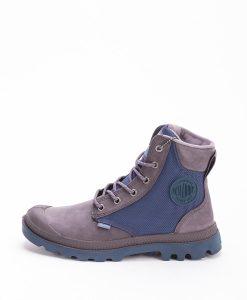 PALLADIUM Women Sneakers 73234 PAMPA SPORT CUFF WPN, Rabbit Dk Denim 129.99