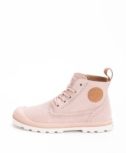 PALLADIUM Women Sneakers 95560 PAMPA LONDON LP MID SUAEDE, Machagony Rose Cuero 90.99