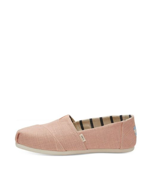 TOMS Women Espadrilles HERITAGE CANVAS, Coral Pink