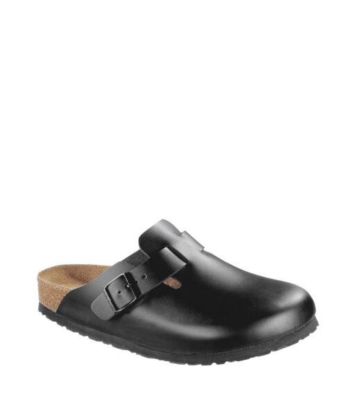 BIRKENSTOCK Unisex Slippers 060413 BOSTON NL WB, Black 89.99 1
