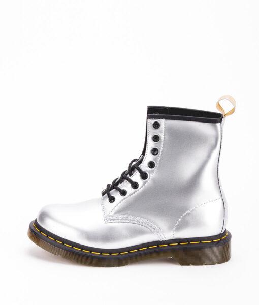 DR MARTENS Women Ankle Boots 1460 24865040 VEGAN, Silver 189.99