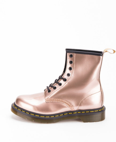 DR MARTENS Women Ankle Boots 1460 24865716 VEGAN, Rose Gold 189.99