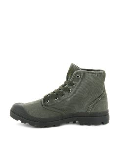 PALLADIUM Men Sneakers 02352 PAMPA HI, Dark Olive 74.99 2