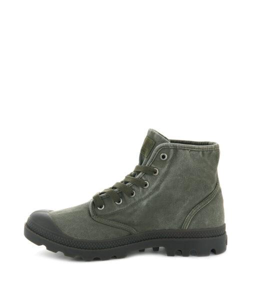 PALLADIUM Men Sneakers 02352 PAMPA HI, Dark Olive 74.99 2