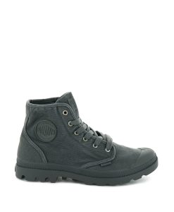 PALLADIUM Men Sneakers 02352 PAMPA HI, Metal Black 74.99