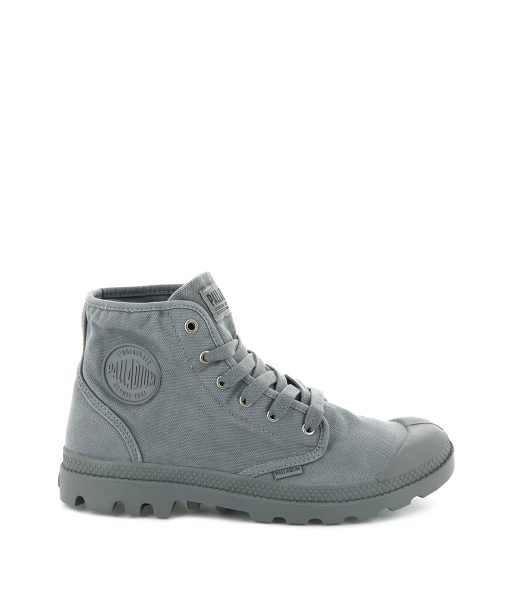 PALLADIUM Men Sneakers 02352 PAMPA HI, Titanum 74.99 1