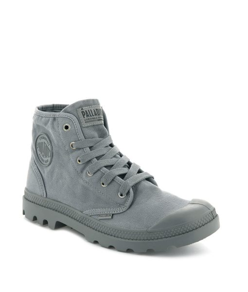 PALLADIUM Men Sneakers 02352 PAMPA HI, Titanum 74.99