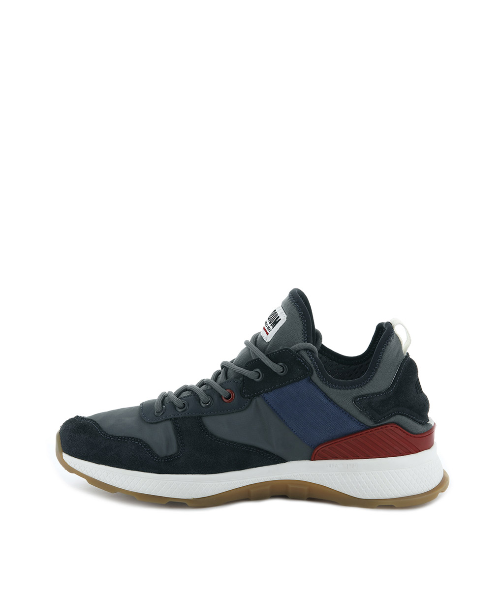 e1637a62115 PALLADIUM Men Sneakers 05682 AX EON ARMY RUNNER Smoked Pearl | T6/8