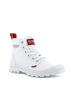 PALLADIUM Unisex Sneakers 76258 PAMPA HI DARE, Star White 74.99 1
