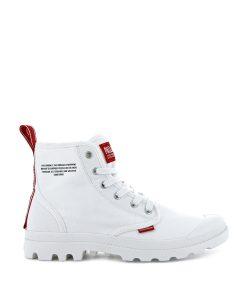 PALLADIUM Unisex Sneakers 76258 PAMPA HI DARE, Star White 74.99