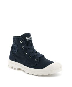 PALLADIUM Women Sneakers 92352 PAMPA HI, Mood Indigo 74.99 1
