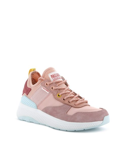 PALLADIUM Women Sneakers 95990 AX EON ARMY RUNNER, Peach Pearl 99.99