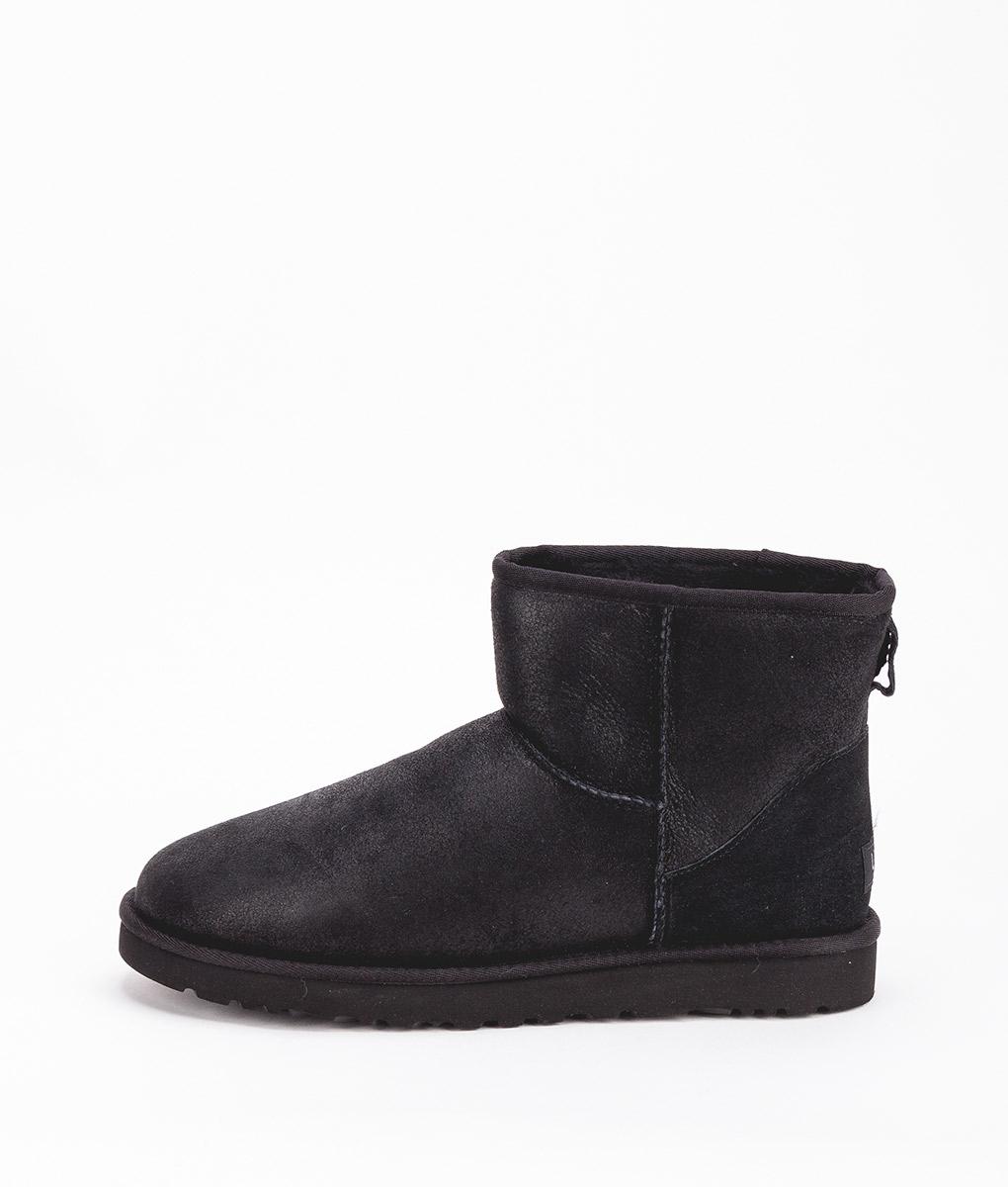 71ced5cf396 UGG Men Ankle Boots 1007307 CLASSIC MINI BOMBER, Jacket Black