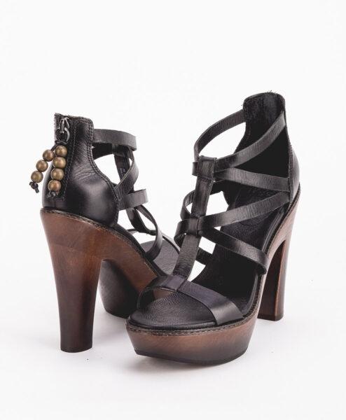 UGG Women High Heel Sandals 1002942 SALIMA, Black 244.99 1
