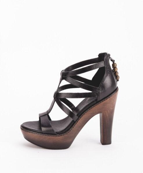 UGG Women High Heel Sandals 1002942 SALIMA, Black 244.99