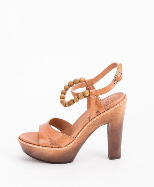 UGG Women High Heel Sandals 1003022 NAIMA, Natural 244.99