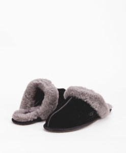 UGG Women Slippers 5661 SHUFFETTE II, Black Grey 119.99 1