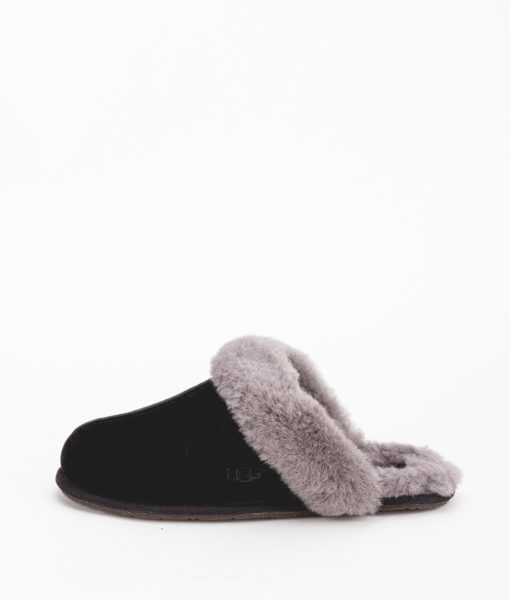 UGG Women Slippers 5661 SHUFFETTE II, Black Grey 119.99