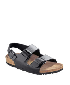BIRKENSTOCK Women Sandals 034793 MILANO BF, Black, 89.99 1