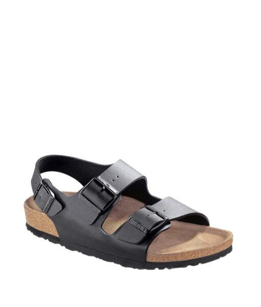 BIRKENSTOCK Women Sandals 034793 MILANO BF, Black, 89.99 1