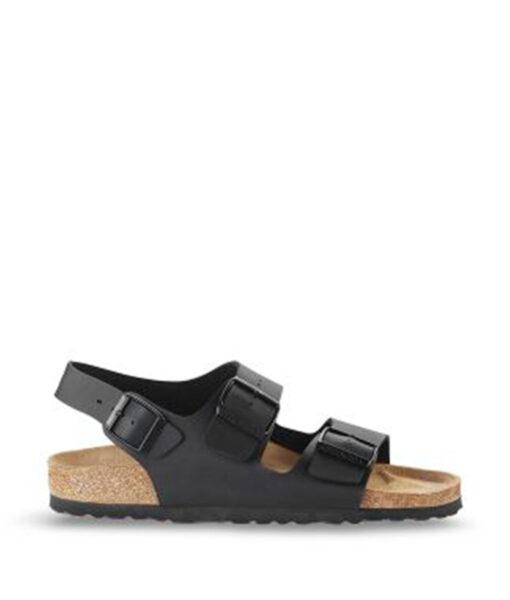 BIRKENSTOCK Women Sandals 034793 MILANO BF, Black, 89.99
