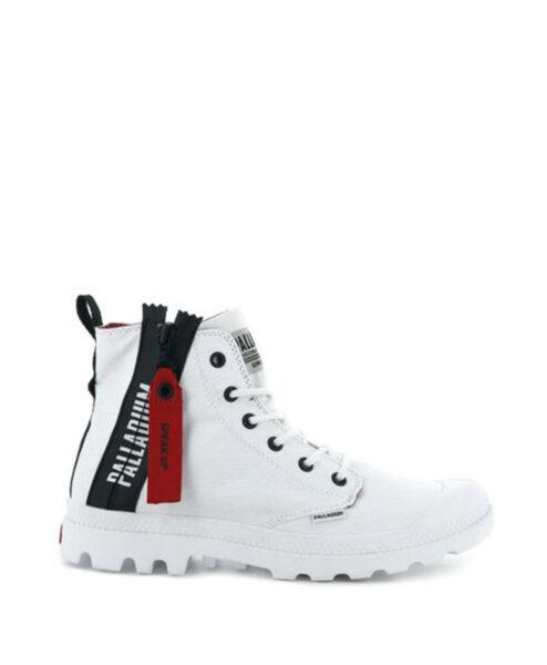 PALLADIUM Men Sneakers 76443 PAMPA UNZIP, White89.99 1