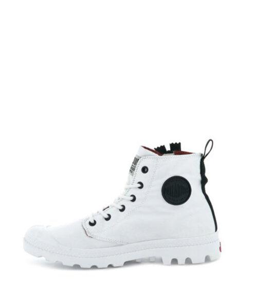 PALLADIUM Men Sneakers 76443 PAMPA UNZIP, White89.99 2