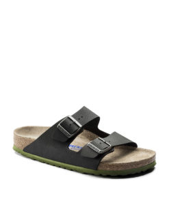 BIRKENSTOCK Men Flip Flops 1005714 ARIZONA SFB BF, Desert Soil Black 84.99 2