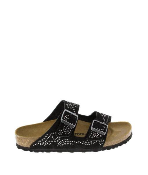BIRKENSTOCK Women Flip Flops 1011312 ARIZONA VL, WInjected Black, 159.99