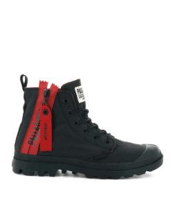 PALLADIUM Men Sneakers 76443 PAMPA UNZIP, Black 89.99 2