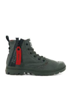 PALLADIUM Men Sneakers 76443 PAMPA UNZIP, Olive Night 89.99 1
