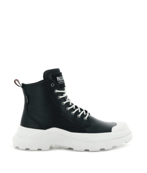 PALLADIUM Women Sneakers 76422 PALLAKIX MID SK, Black Star White 119.99 1