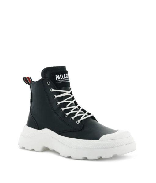 PALLADIUM Women Sneakers 76422 PALLAKIX MID SK, Black Star White 119.99 2