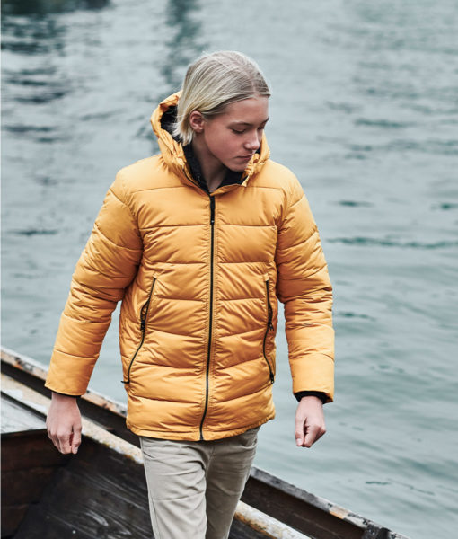 DIDRIKSONS Boys Jacket 502747 VALETTA, Yellow Ochre 8