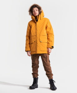 DIDRIKSONS Boys Parka 502745 GOTEBORG, Yellow Ochre 149.99 3