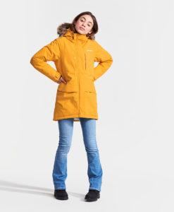DIDRIKSONS Girls Parka 502622 JAMILA, Oat Yellow 149.99 1