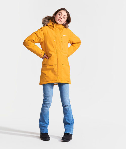 DIDRIKSONS Girls Parka 502622 JAMILA, Oat Yellow 149.99 1