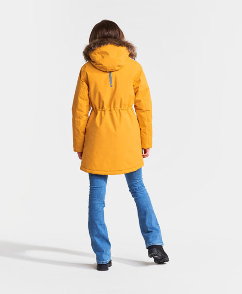 DIDRIKSONS Girls Parka 502622 JAMILA, Oat Yellow 149.99 2