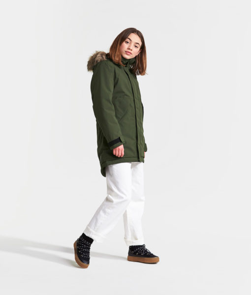 DIDRIKSONS Girls Parka 502746 LISSABON, Spurce Green 1