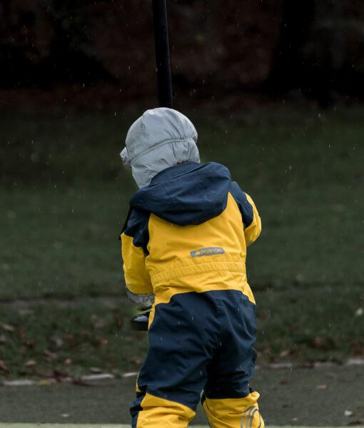 DIDRIKSONS Kids Coverall 502648 CORNELIUS, Oat Yellow 129.99 2