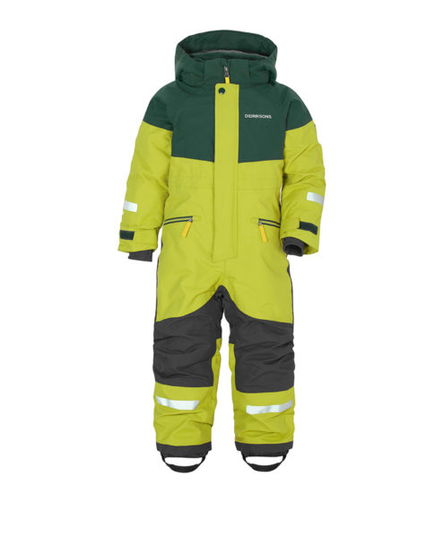 DIDRIKSONS Kids Coverall 502648 CORNELIUS, Seagrass Green 129.99