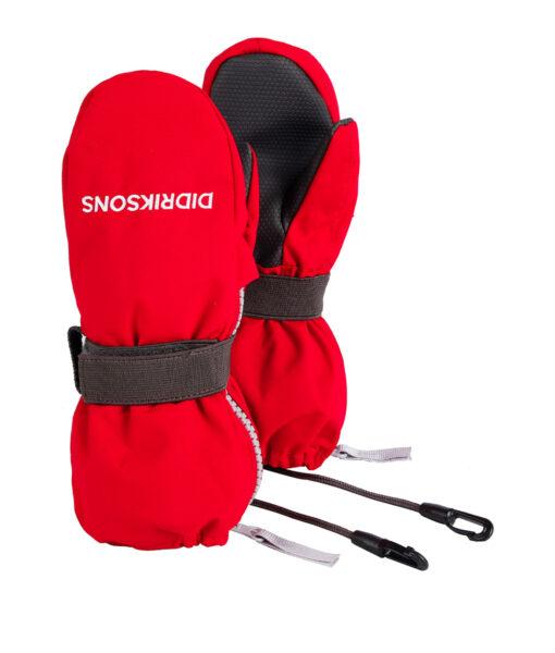 DIDRIKSONS Kids Gloves 502694 ZIP MITTENS, Chili Red 21.99 8