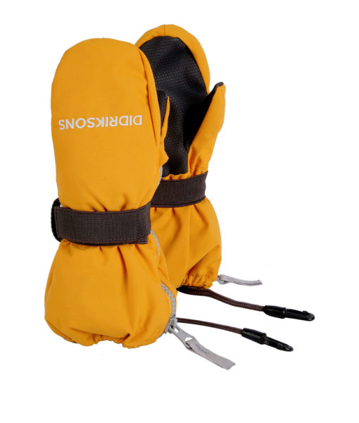 DIDRIKSONS Kids Gloves 502694 ZIP MITTENS, Oat Yellow 21.99 1