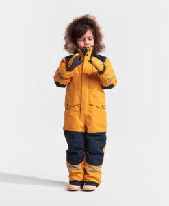 DIDRIKSONS Kids Gloves 502694 ZIP MITTENS, Oat Yellow 21.99