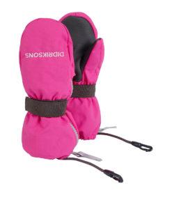 DIDRIKSONS Kids Gloves 502694 ZIP MITTENS, Plastic Pink 21.99 3