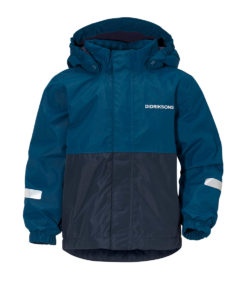 DIDRIKSONS Kids Jacket 502630 BRI Hurricane Blue 5