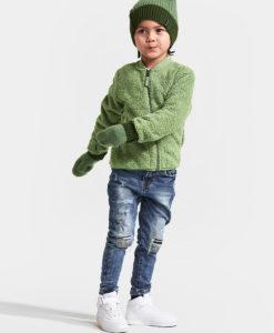 DIDRIKSONS Kids Jacket 502731 OHLIN, Lichen Green 1