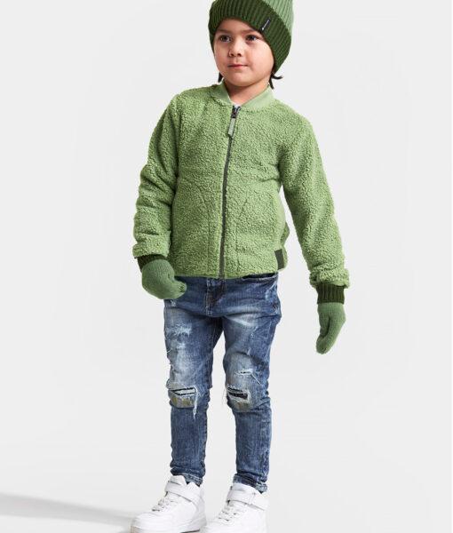 DIDRIKSONS Kids Jacket 502731 OHLIN, Lichen Green 2