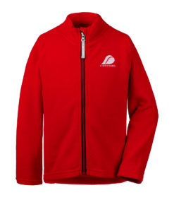 DIDRIKSONS Kids Microfleece Jacket 502673 MONTE, Chili Red 4